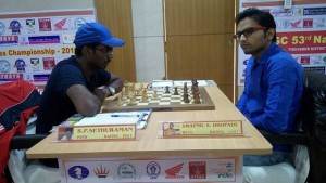 Defending champion Sethuraman recovered to beat GM elect Swapnil