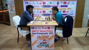 Venkatesh handed over a loss to GM Abhijit Kunte